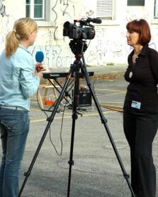 Getting practical experience in journalism