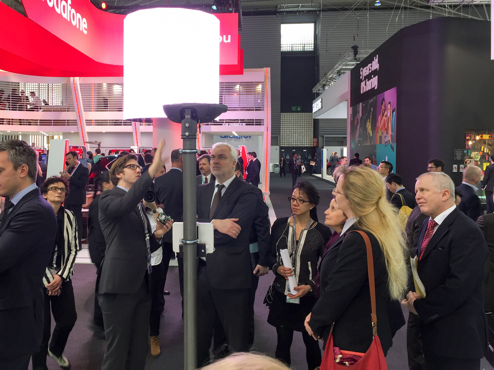 MWC 2016 Laterne