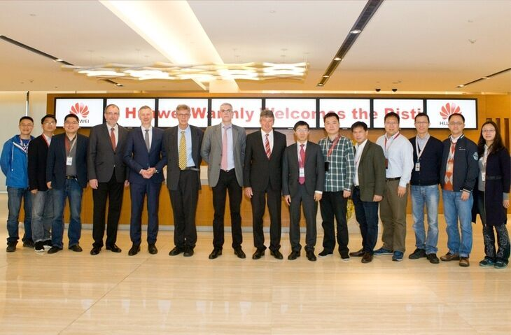 Huawei Workshop 2016 - group photo